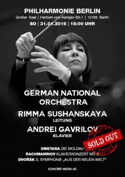 Poster, Berlin Philharmonic 2016